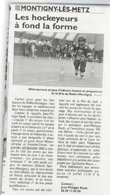 fete hockey journal 2014
