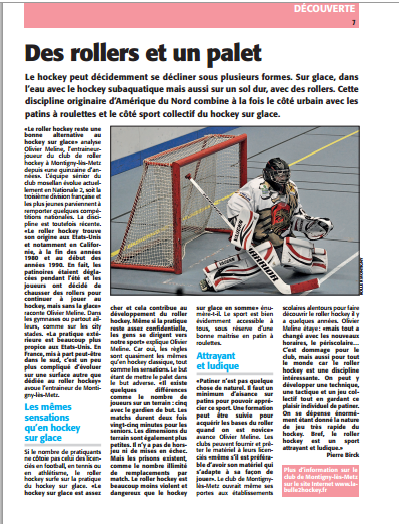 article ami sport 2015