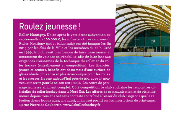 article montigny info